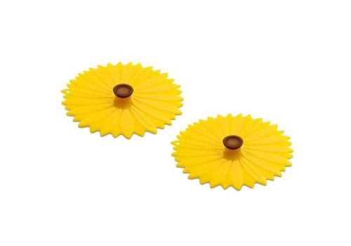 Charles Viancin Charles Viancin - drink covers - sunflower (set van 2)