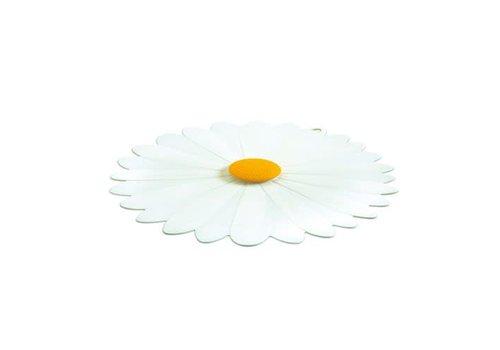 Charles Viancin Charles Viancin - siliconen deksel - daisy white (28 cm.)