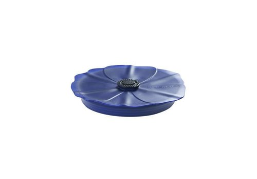 Charles Viancin Charles Viancin - siliconen deksel - poppy blue night (20 cm.)