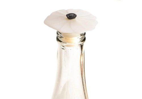 Charles Viancin Charles Viancin - flessenstop - poppy white lila