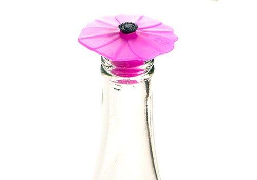 Charles Viancin Charles Viancin - flessenstop - poppy purple orchid