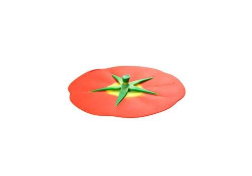 Charles Viancin Charles Viancin - siliconen deksel - tomato (23 cm.)
