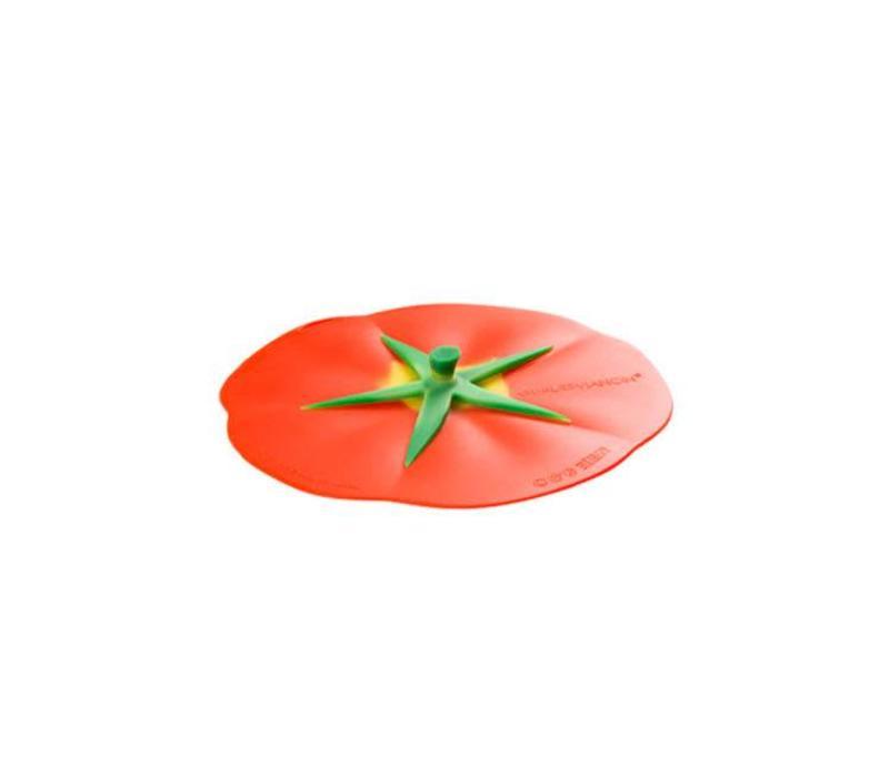 Charles Viancin - siliconen deksel - tomato (20 cm.)