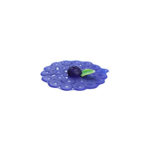 Charles Viancin - siliconen deksel - blueberry (15 cm.)