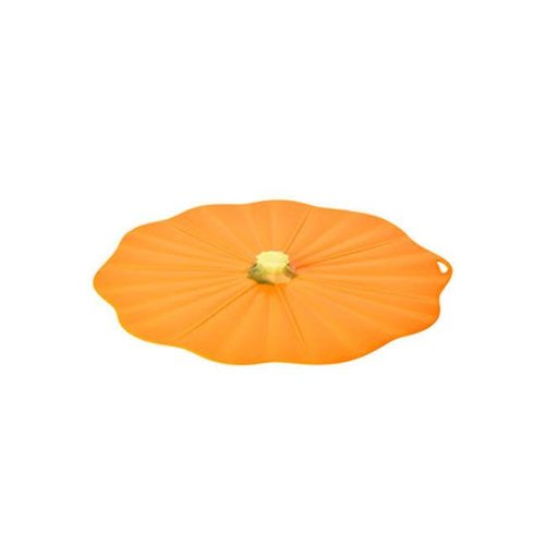 Charles Viancin - siliconen deksel - pumpkin (23 cm.)
