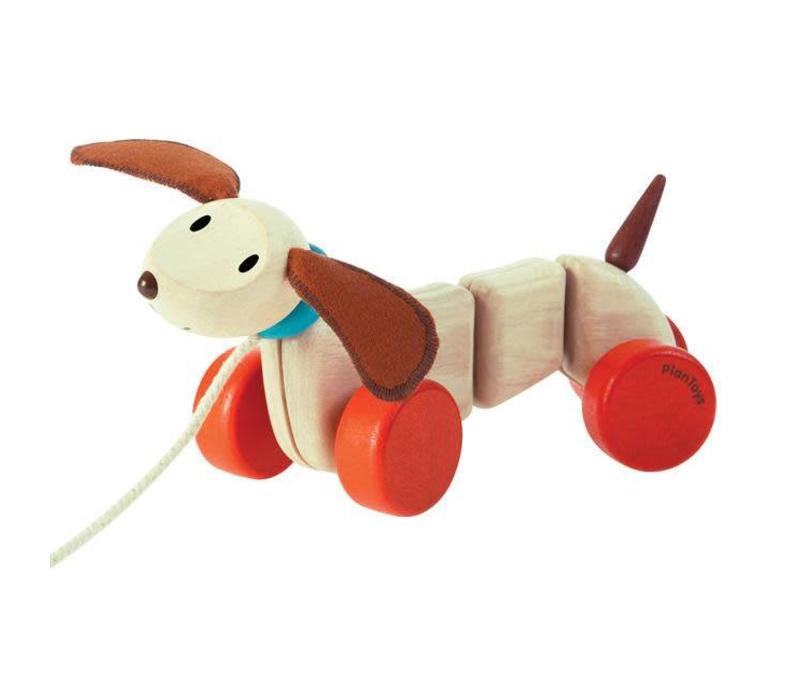 Plan Toys - trekdier - teckel