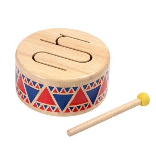 Plan Toys - houten trommel