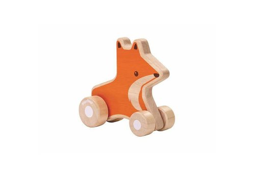 Plan Toys Plan Toys - vos op wieltjes