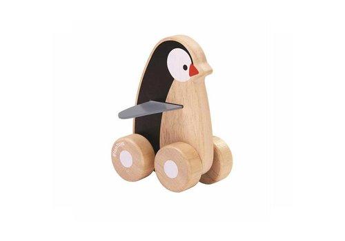 Plan Toys Plan Toys - pinguin op wieltjes