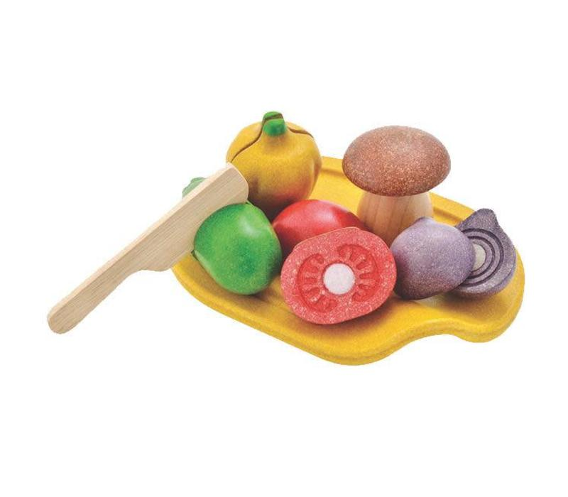 Plan Toys - snijset - groente