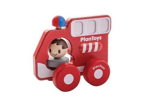 Plan Toys Plan Toys - brandweerauto