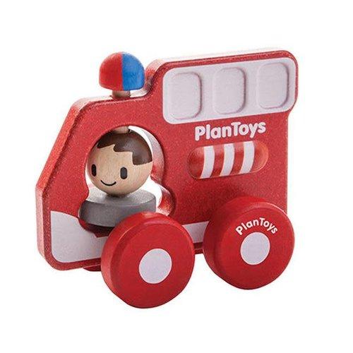 Plan Toys - brandweerauto