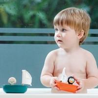 Plan Toys - zeilboot - ijsbeer