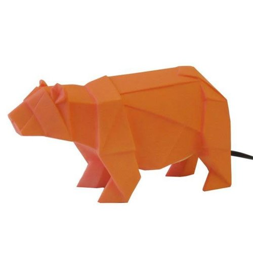 House of Disaster - lamp origami - beer oranje