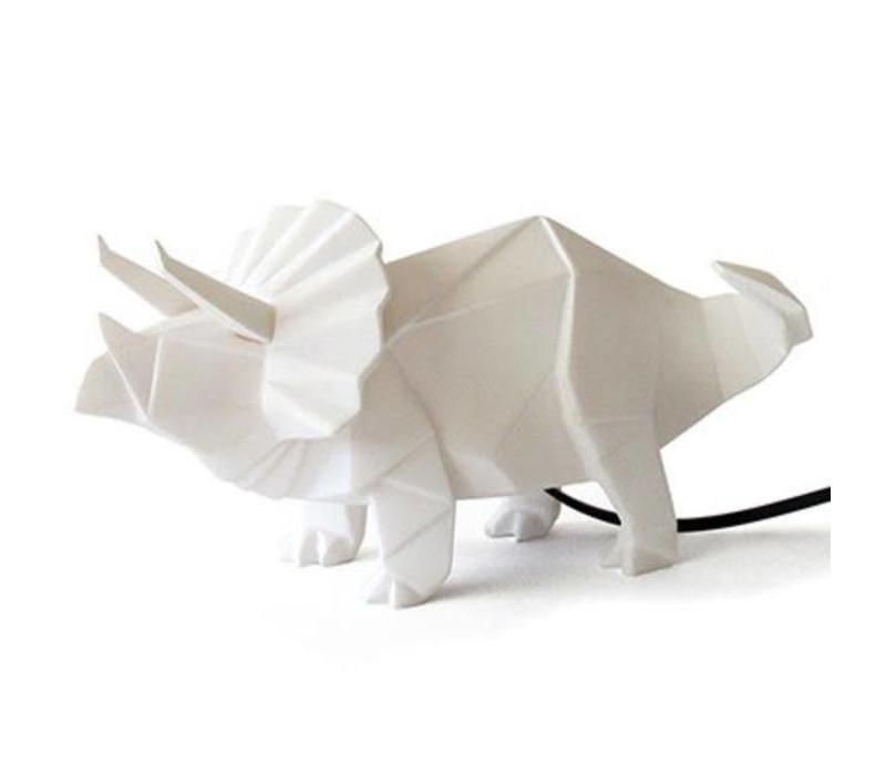 House of Disaster - lamp origami - triceratops