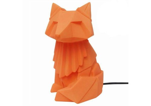 House of Disaster House of Disaster - lamp origami - vos oranje