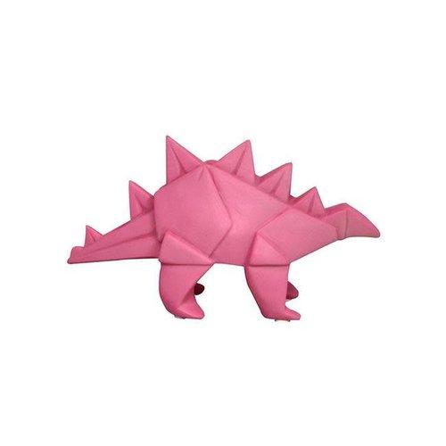 House of Disaster - mini-lamp origami - roze dino