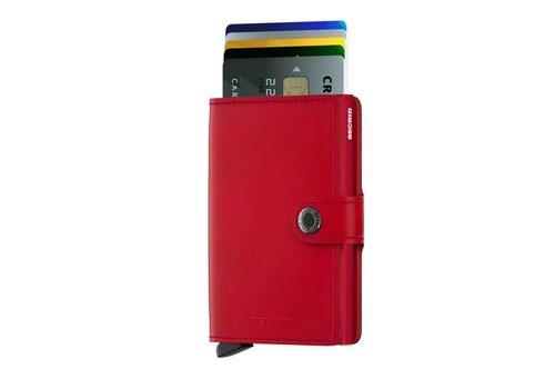 Secrid Secrid - miniwallet - red red