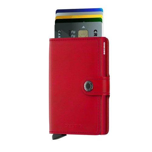 Secrid - miniwallet - red red