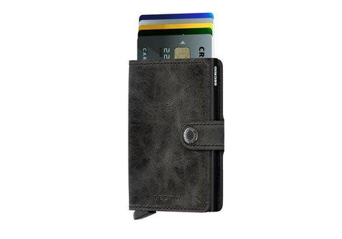 Secrid Secrid - miniwallet vintage - black