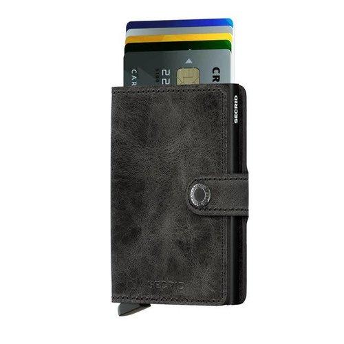 Secrid - miniwallet vintage - black