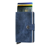 Secrid - miniwallet vintage - blue