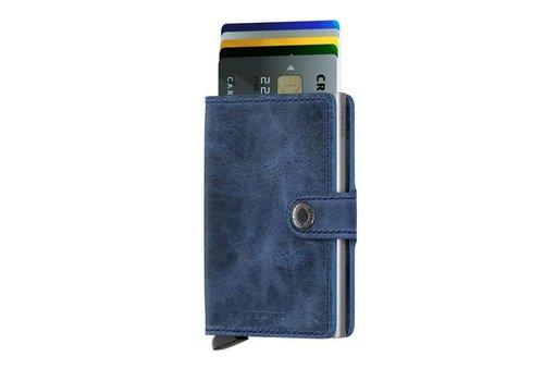 Secrid Secrid - miniwallet vintage - blue