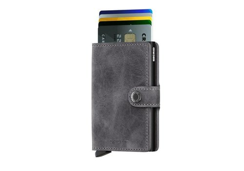 Secrid Secrid - miniwallet vintage - grey - black
