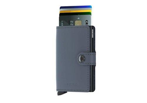 Secrid Secrid - miniwallet mat - grey - black