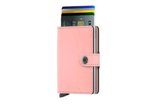 Secrid Secrid - miniwallet mat - pink