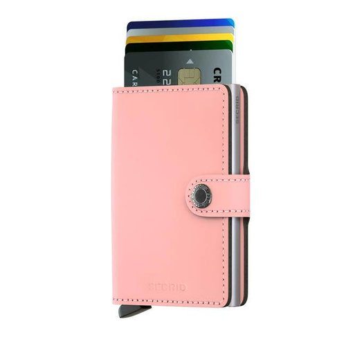 Secrid - miniwallet matte - pink