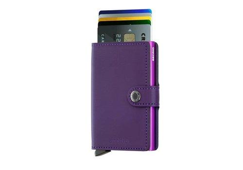 Secrid Secrid - miniwallet mat - purple