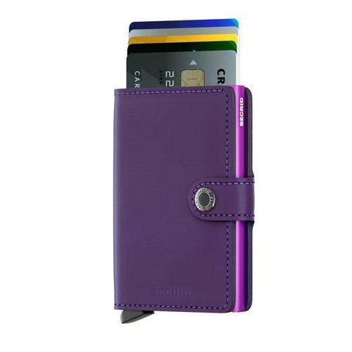 Secrid - miniwallet matte - purple