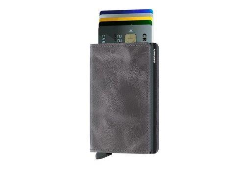 Secrid Secrid - slimwallet vintage - grey black