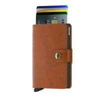Secrid - miniwallet - cognac-brown
