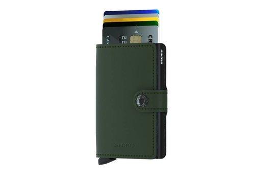 Secrid Secrid - miniwallet matte - green-black