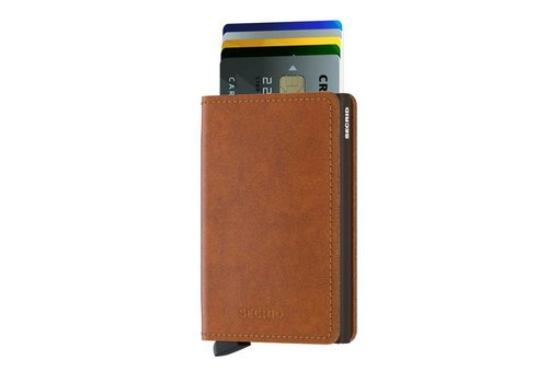 Secrid Secrid - slimwallet original - cognac-brown