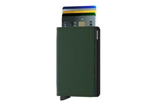 Secrid Secrid - slimwallet mat - green-black