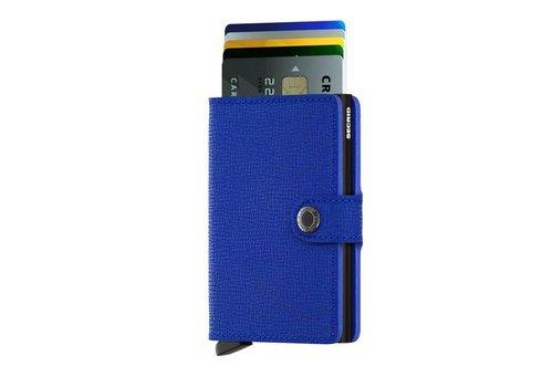 Secrid Secrid - miniwallet crisple - blue black