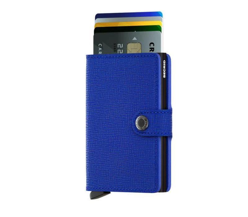 Secrid - miniwallet crisple - blue black