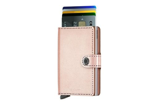 Secrid Secrid - miniwallet - metallic rose