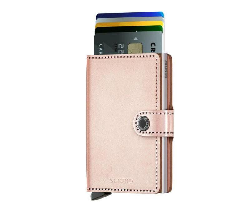 Secrid - miniwallet - metallic rose