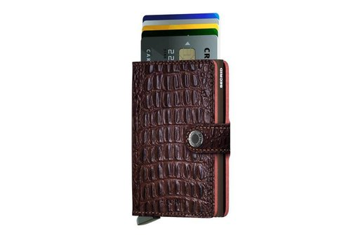 Secrid Secrid - miniwallet  nile - brown