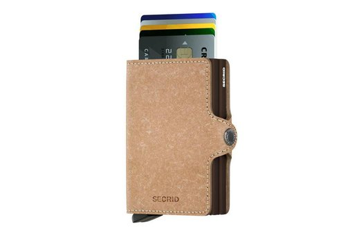 Secrid Secrid - twinwallet recycled - natural