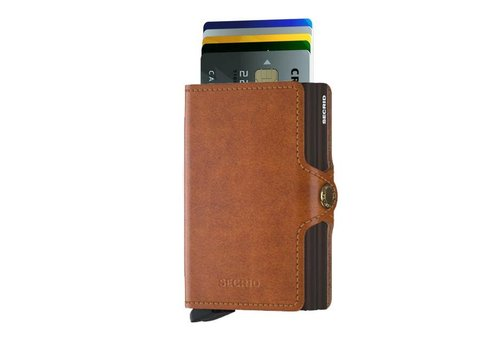 Secrid Secrid - twinwallet original - cognac-brown