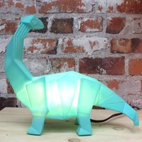 House of Disaster - lamp origami - diplodocus