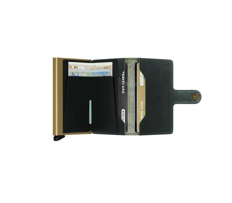 Secrid - miniwallet rango - green gold