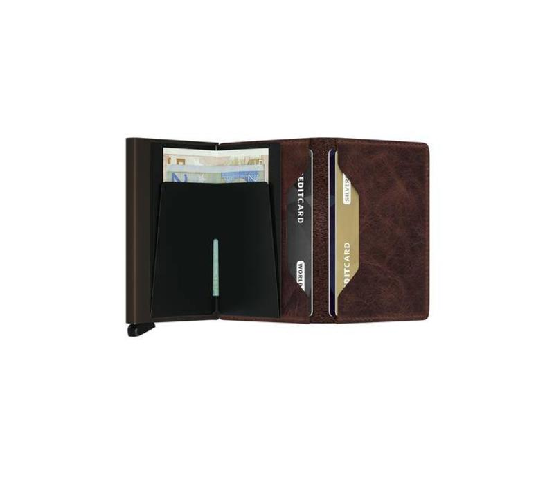 Secrid - slimwallet vintage - chocolate
