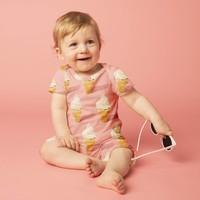 Baby jumpsuit - icecream