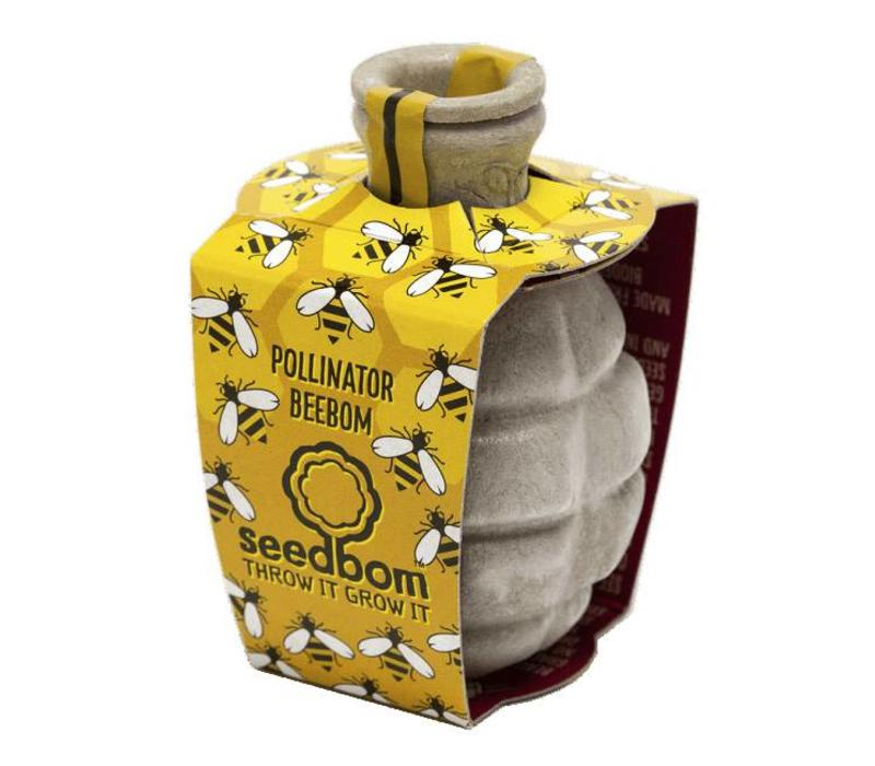 Seedbom - pollinator beebom
